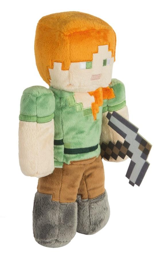 Plyšová Alex v škatuľke - Minecraft (30 cm)