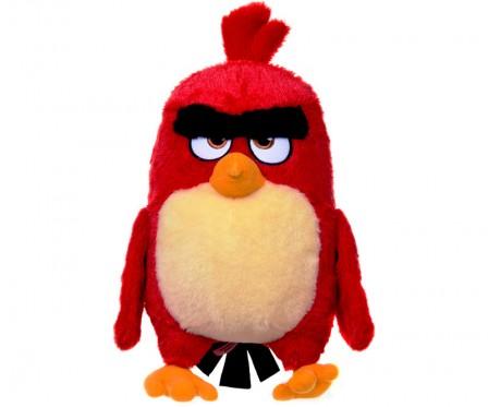 Plyšový Angry Birds - Movie červený (28 cm)