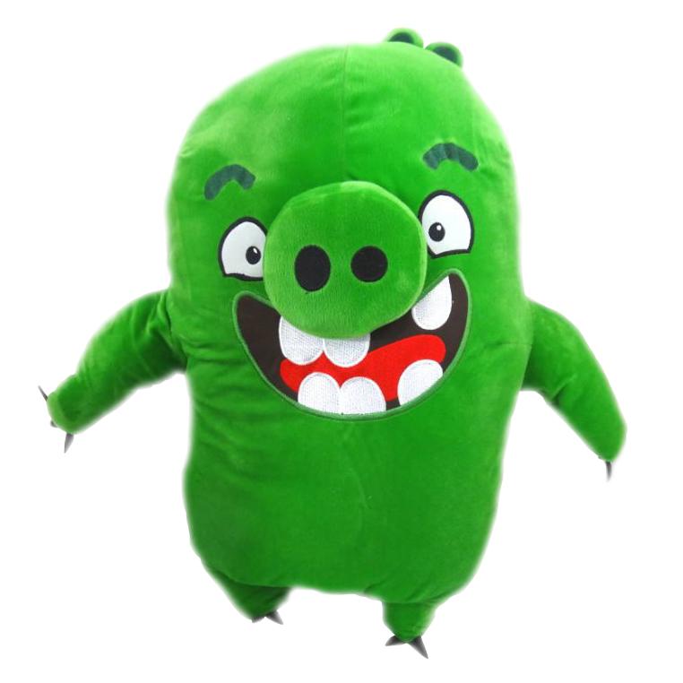 Plyšový Angry Birds Movie Leonard - zelený (54 cm)