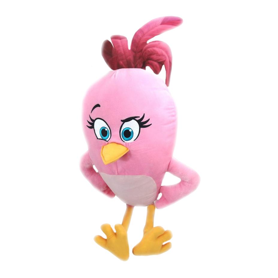 Plyšový Angry Birds Movie Stella - ružový (54 cm)