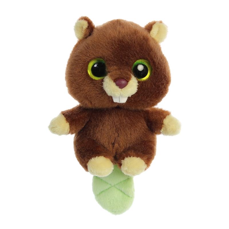 Plyšový bobr Trevor Baby - YooHoo (12,5 cm)