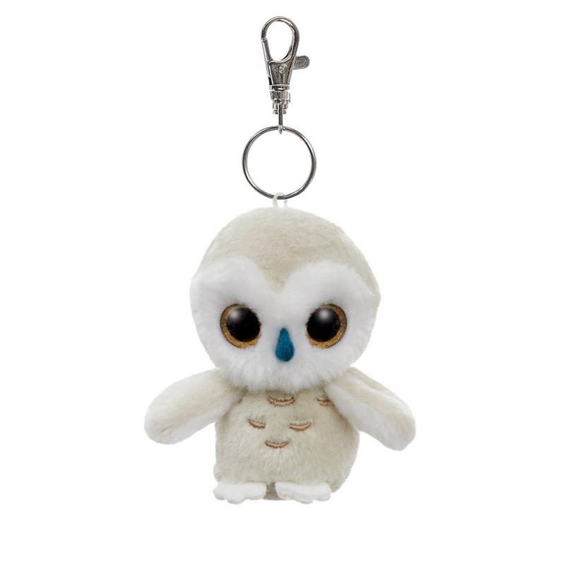 Plyšová snežná sova Snowee - klíčenka - YooHoo - 9 cm