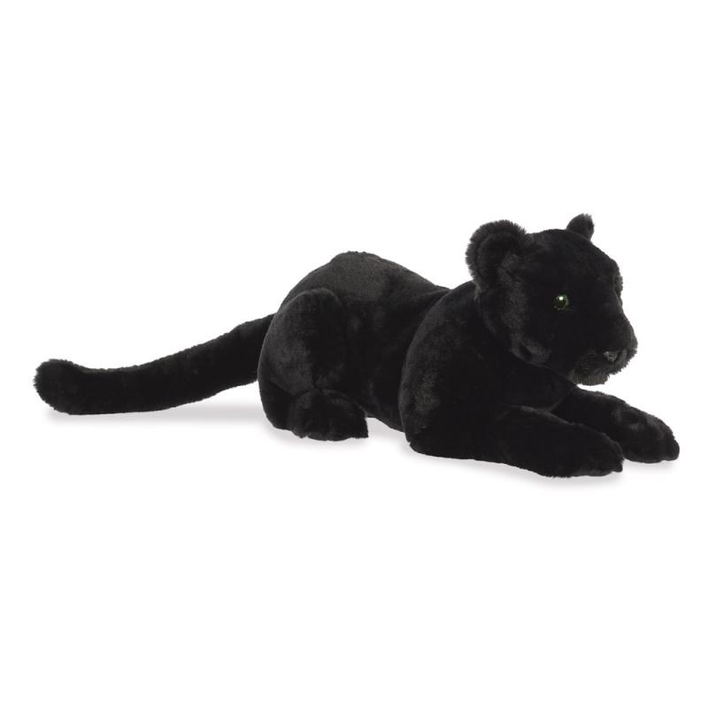 Plyšový čierny Panter - Luxe Boutique Aurora - 51 cm