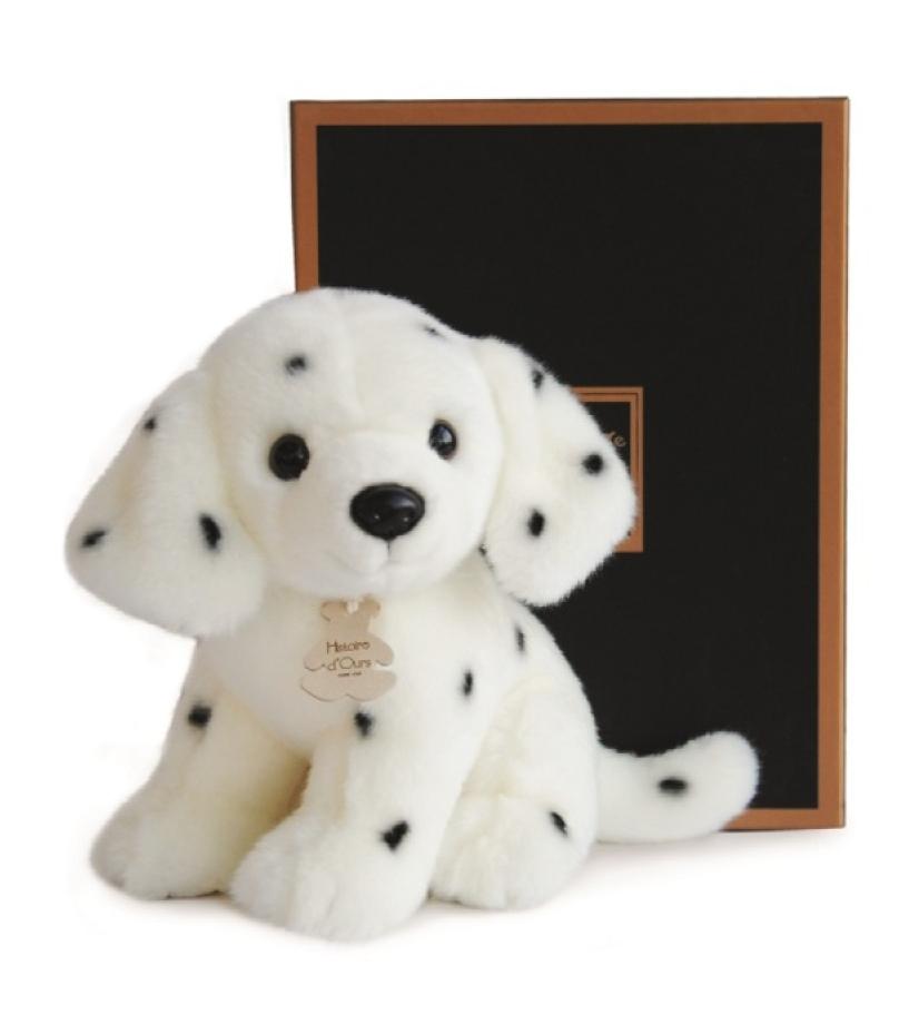 Plyšový dalmatínec v škatuľke Authentiques - Histoire D´Ours (20 cm)