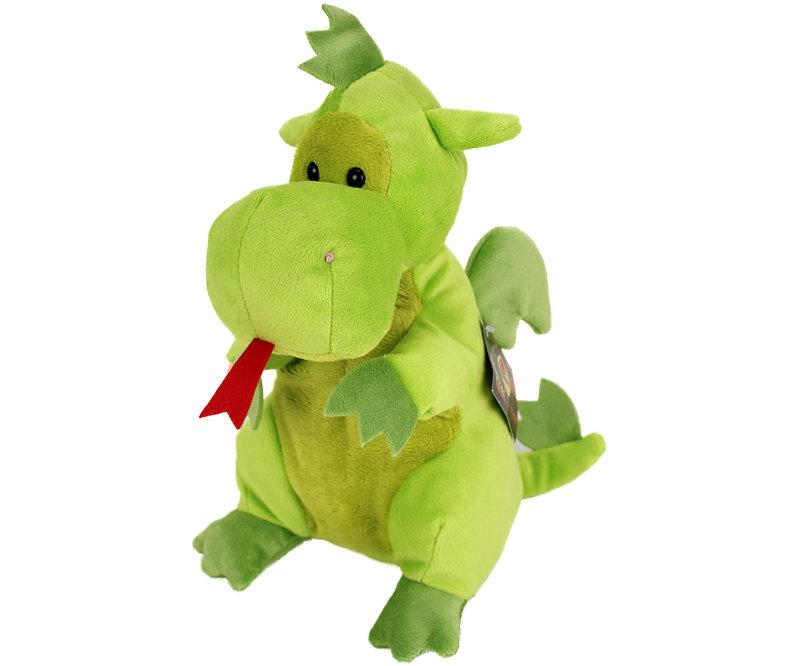 Plyšový dráček zelený (25 cm)