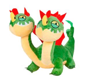 Plyšový drak Barf a Belch - Ako si vycvičiť draka 3 (26 cm)