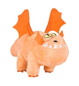 Plyšový drak Gronckle - Jak vycvičit draka 3 (21 cm)