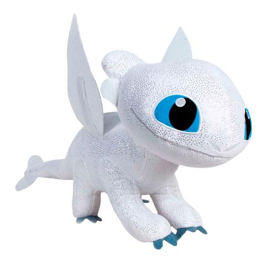 Plyšový drak Light Fury - Ako si vycvičiť draka 3 (40 cm)