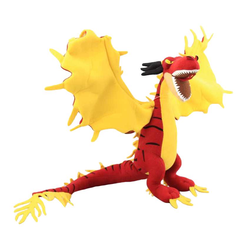 Plyšový drak Nightmare - Ako si vycvičiť draka (75 cm)