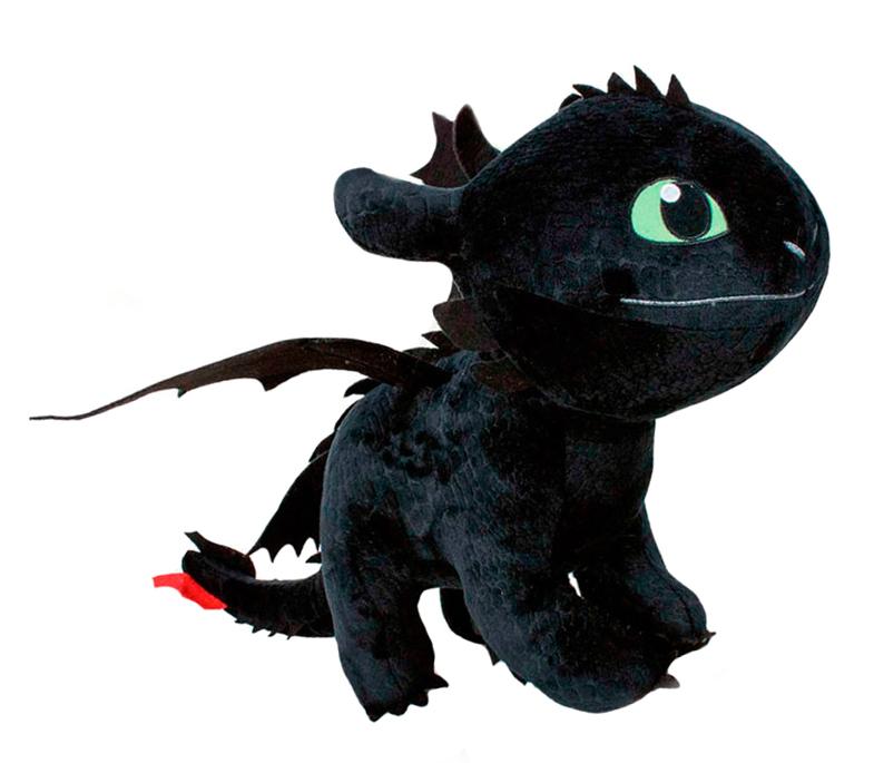 Plyšový drak Toothless - Ako si vycvičiť draka 3 (26 cm)