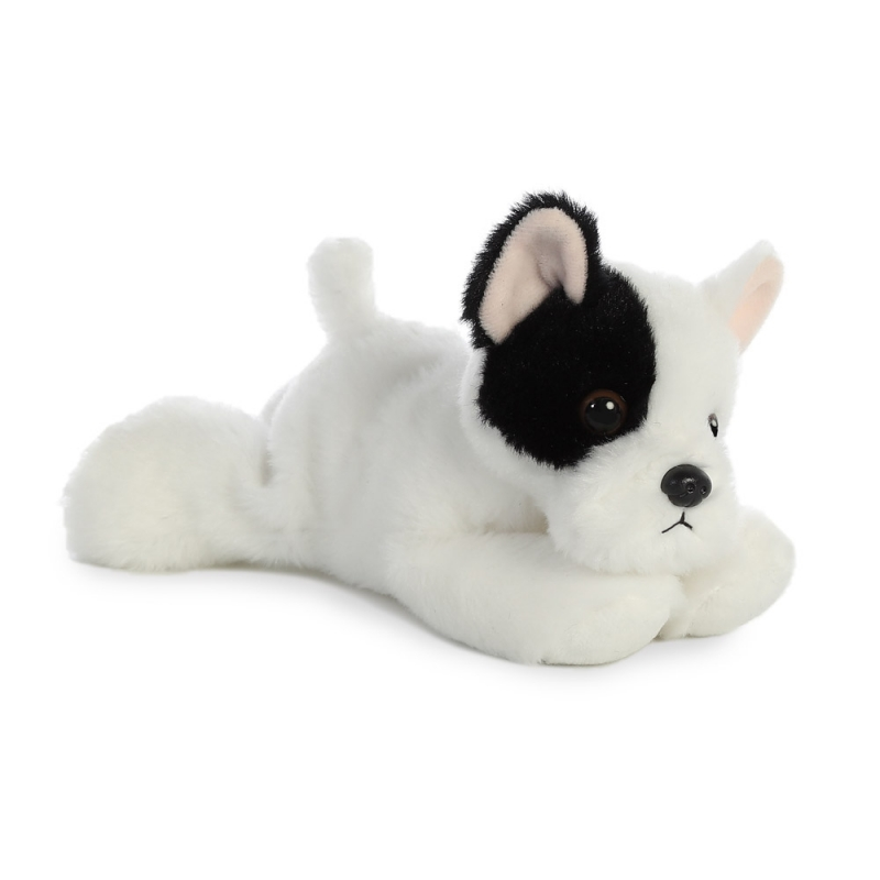 Plyšový francouzský bulldog - Flopsies Mini (20,5 cm)