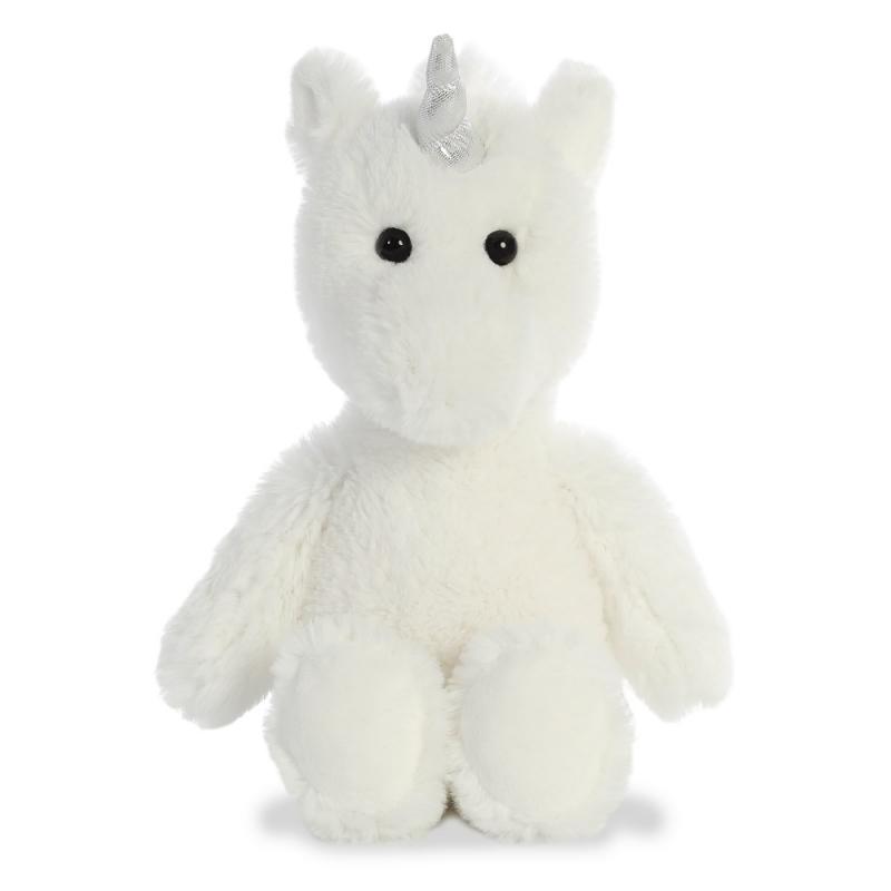 Plyšový jednorožec biely - Cuddly Friends (30 cm)