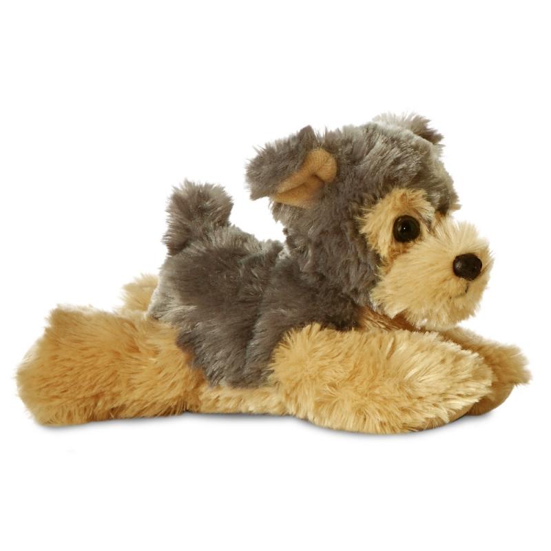 Plyšový jorkšír teriér  Cutie - Flopsies Mini (20,5 cm)