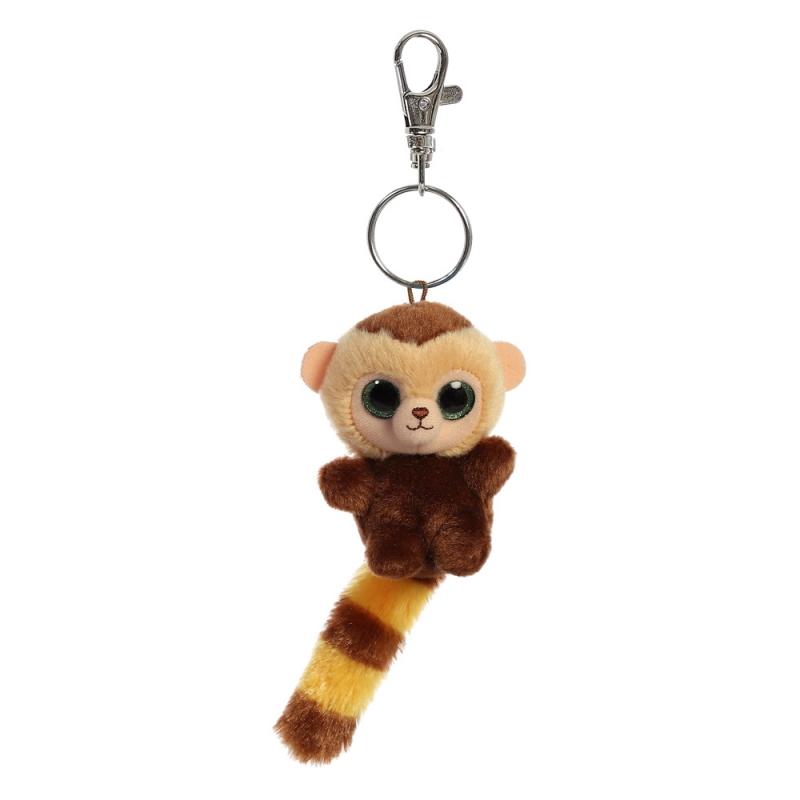 Plyšový kapucín Roodee Baby - kľúčenka - YooHoo (9 cm)