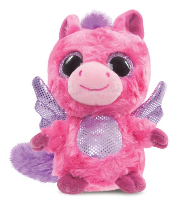 Plyšový kôň Pegas ružový - YooHoo (12,5 cm)