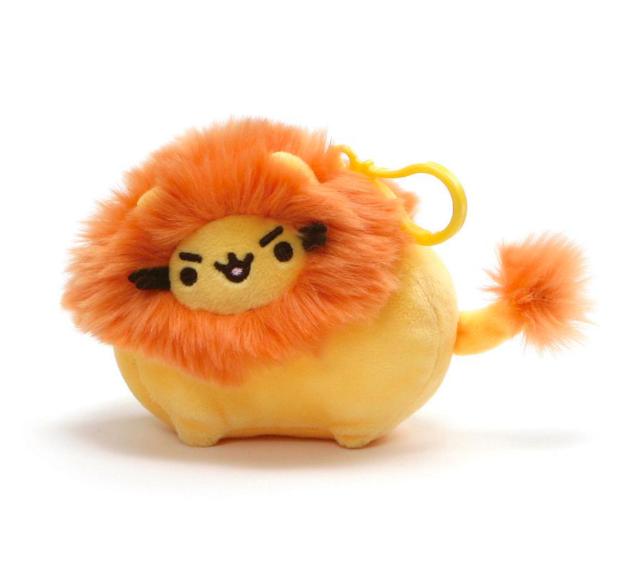 Plyšový lev - prívesok - Pusheen (8 cm)