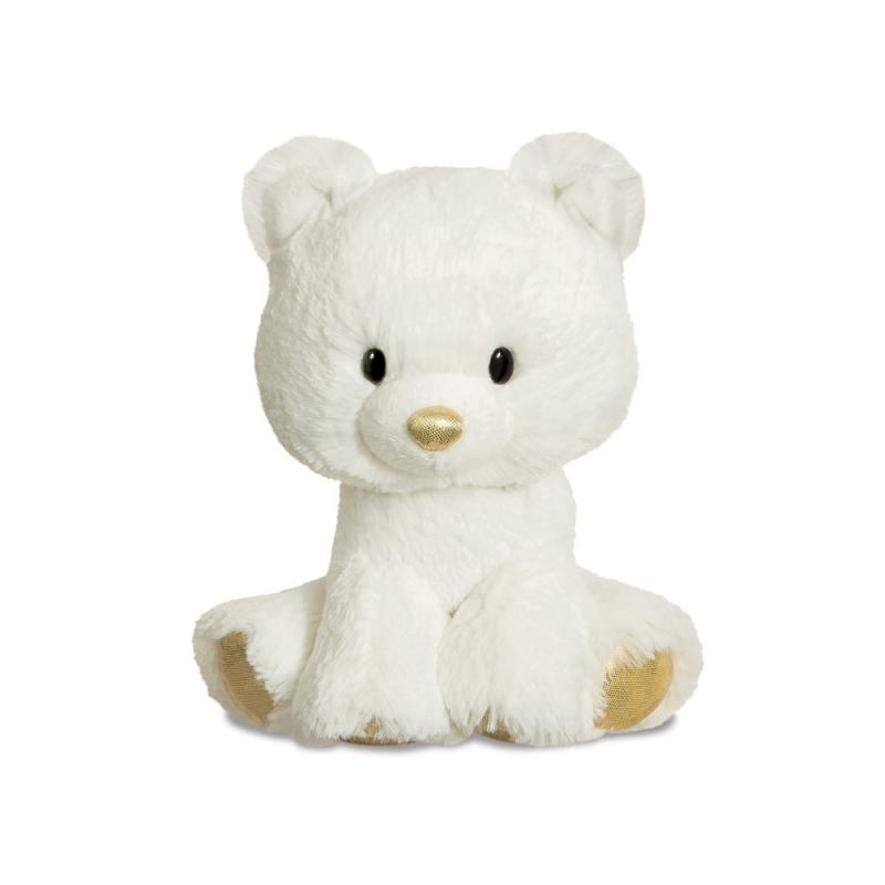 Plyšový medveď Glitzy Tots - 20 cm