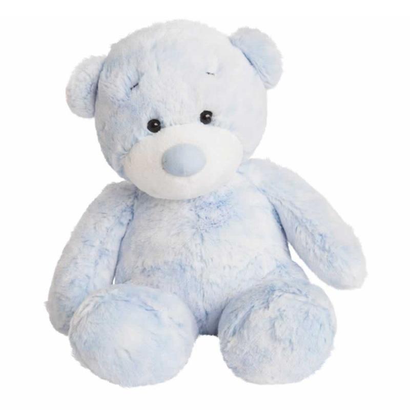 Plyšový medvídek Bonnie modrý - Aurora Baby  (27,5 cm)