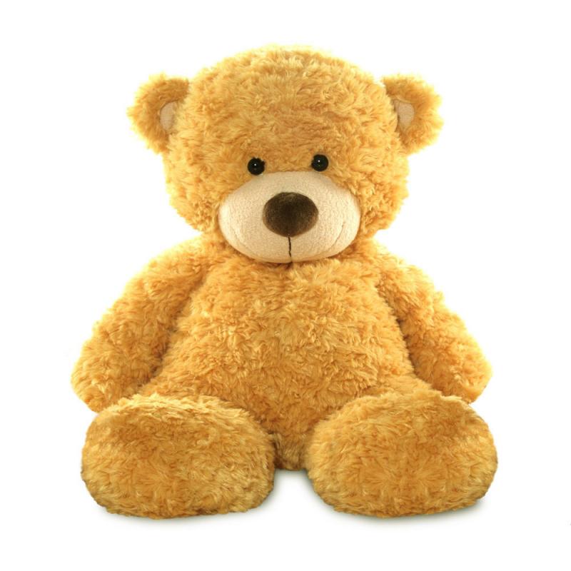 Plyšový medvedík medovo hnedý - Bonnie (33 cm)