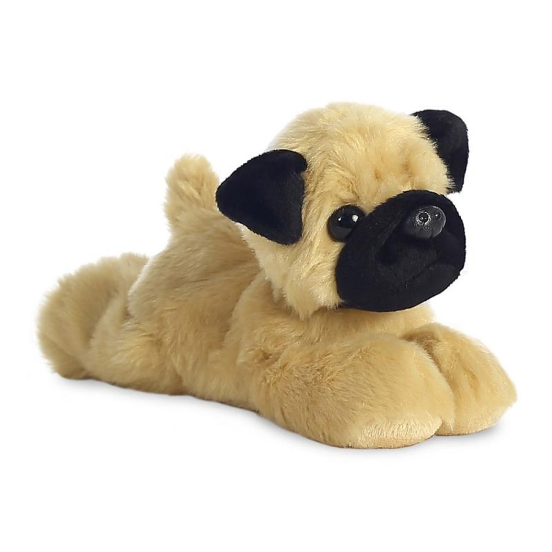 Plyšový mopslík Mr. Pugster - Flopsie (20,5 cm)