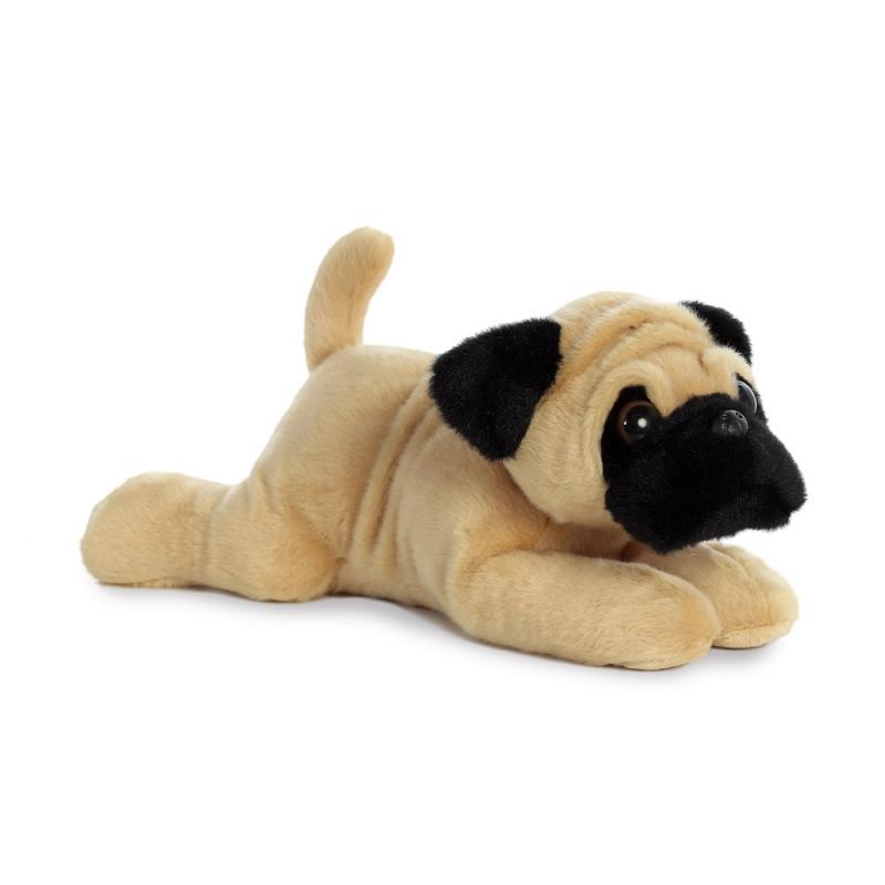 Plyšový mopslík Pug-ger - Flopsies (30,5 cm)