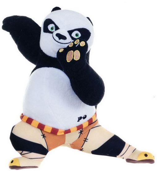 Plyšový Po bojový postoj - Kung Fu Panda 3 (28 cm)