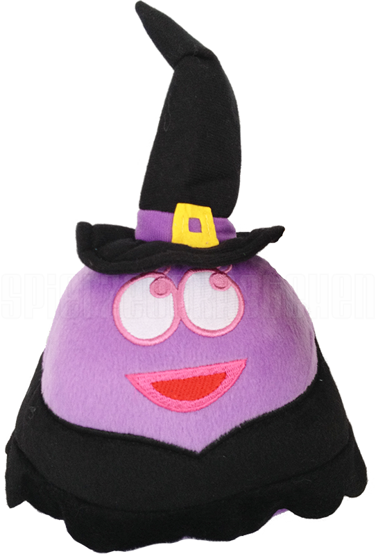 Plyšový POU - fialová čarodejnica (13 cm)
