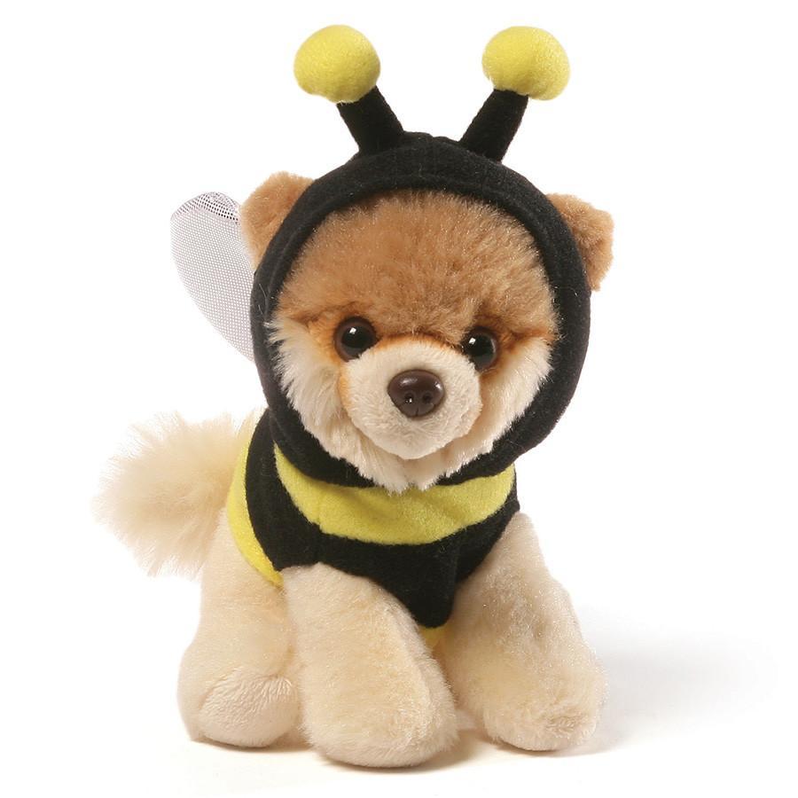 Plyšový psík Boo včela (12 cm)