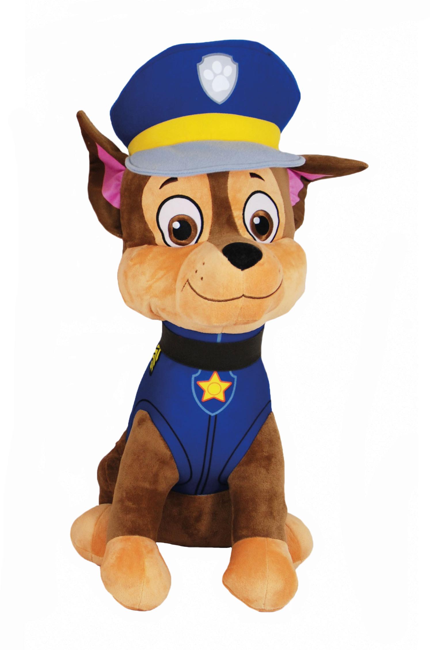 Plyšový psík Chase - Paw Patrol (60 cm)