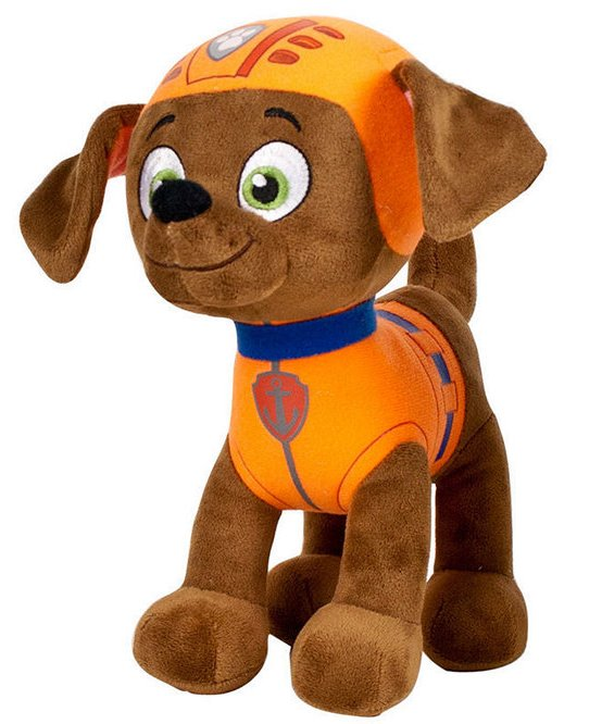 Plyšový psík Zuma - Paw Patrol (28 cm)