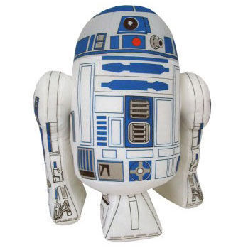 Plyšový Robot R2-D2  - Star Wars (25 cm)