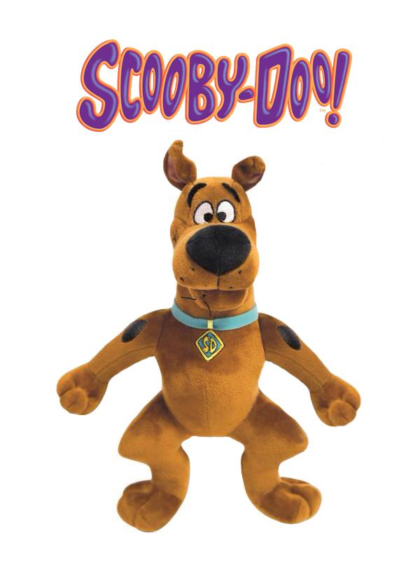 Plyšový Scooby stojící - Scooby-Doo (27 cm)