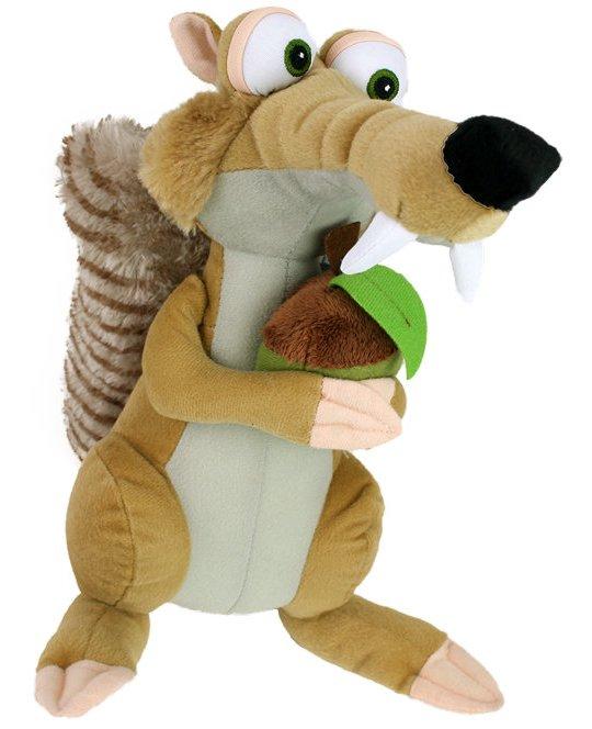 Plyšová veverička Scrat - Doba ľadová (27 cm)