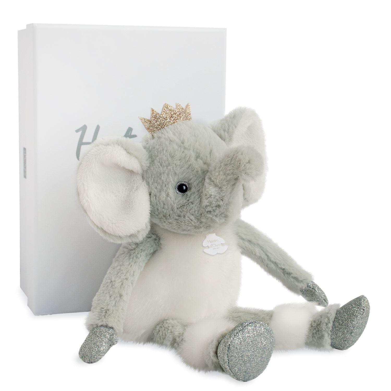 Plyšový sloník v škatuľke - Histoire D´Ours (25 cm)