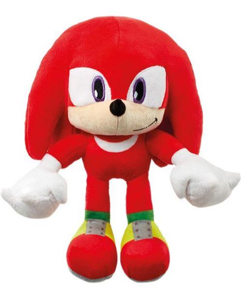 Plyšový Sonic červený - KNUCKLES (28 cm)