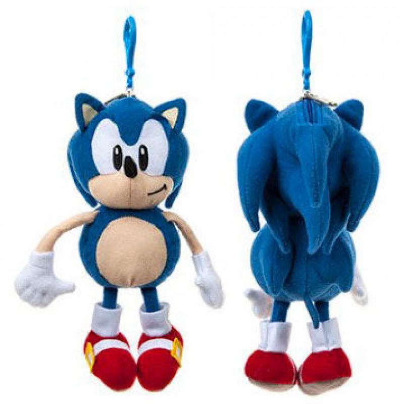 Plyšový Sonic - přívěsek, peněženka - Sonic the Hedgehog (20 cm)
