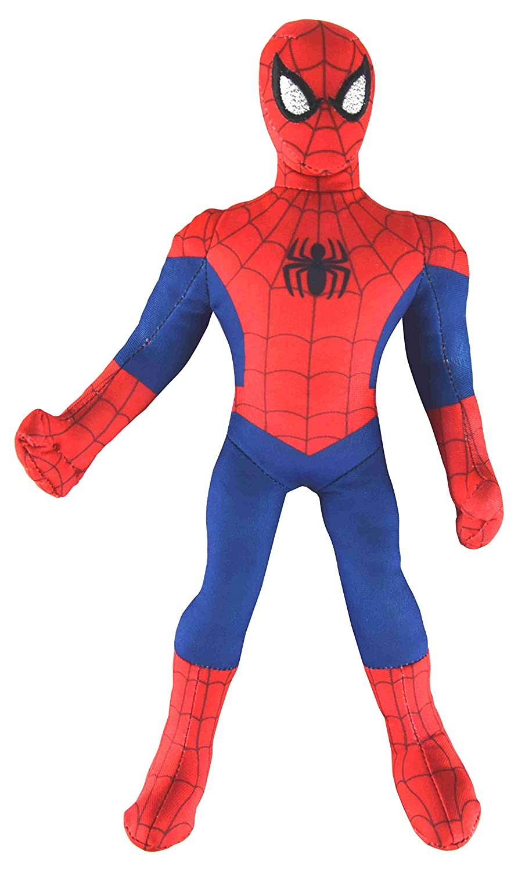 Plyšový Spiderman - stojaci červený - 45 cm