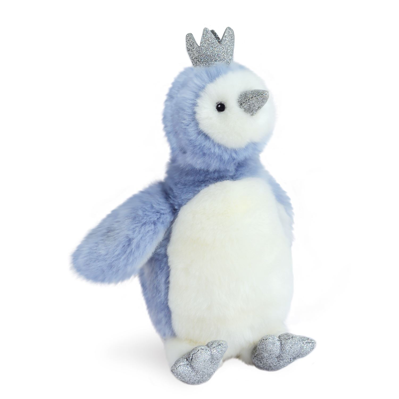 Plyšový tučniačik Pigloo modrý - Histoire D´Ours (30 cm)