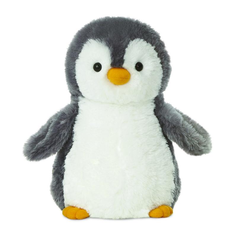Plyšový tučňák šedý - Destination Nation (24 cm)