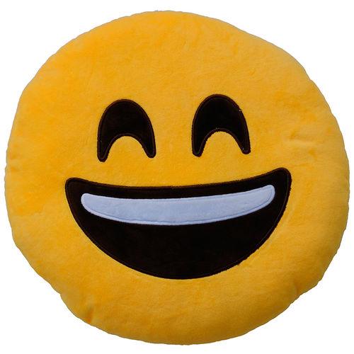 Plyšový vankúšik Emoticon Happy (25 cm)