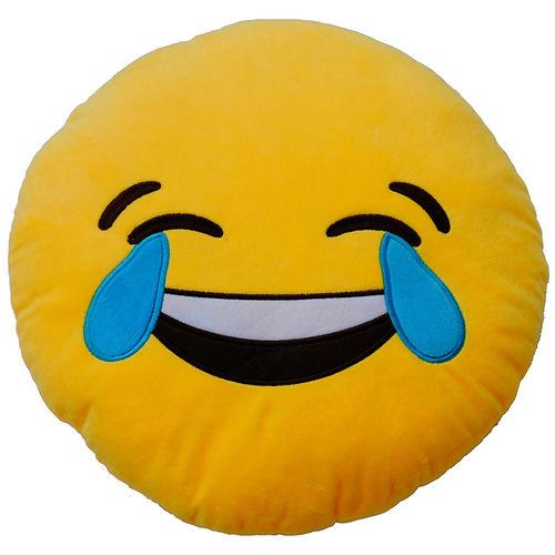 Plyšový vankúšik Emoticon Laughter (25 cm)