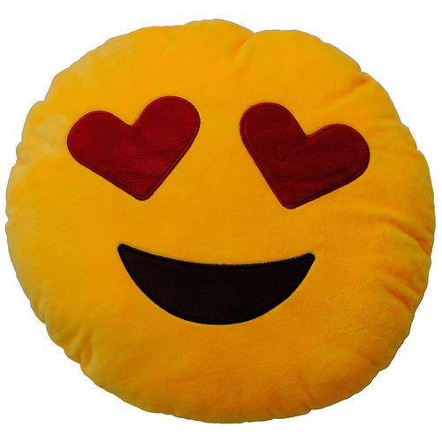 Plyšový polštářek Emoticon Love (25 cm)