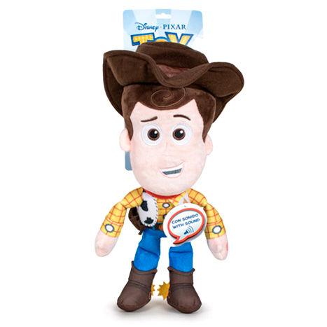 Plyšový Woody so zvukom - Toy Story 4 (30 cm)