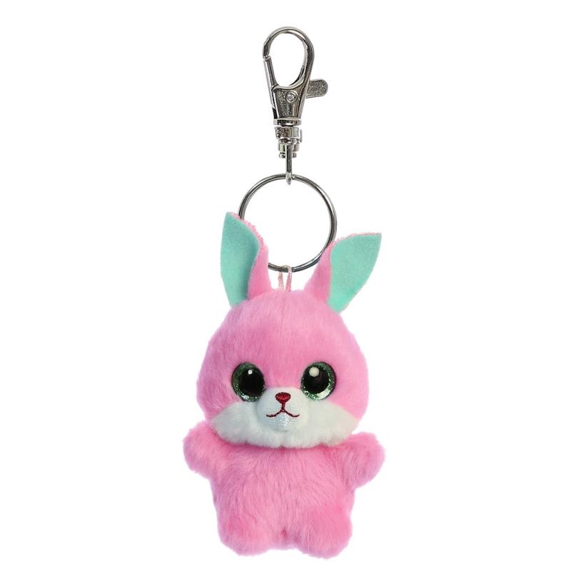 Plyšový zajíček Betty Baby - klíčenka - YooHoo (9 cm)