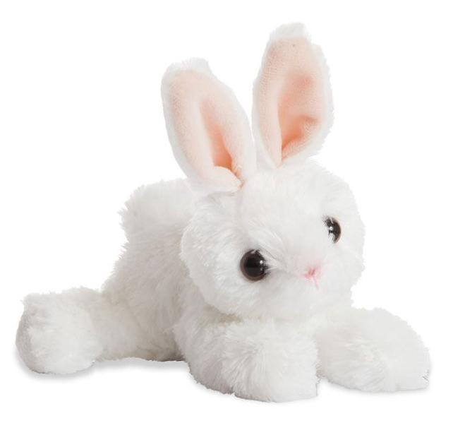 Plyšový zajačik biely - Flopsie (20,5 cm)