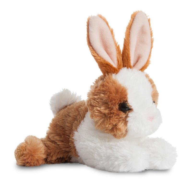 Plyšový zajačik hnedo-biely - Flopsie (20,5 cm)