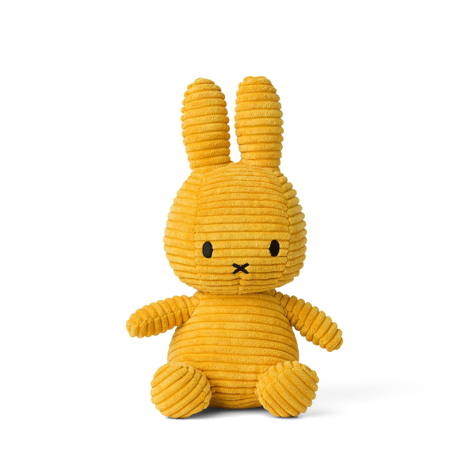 Plyšový zajačik horčicovožltý menčester - Miffy (23 cm)