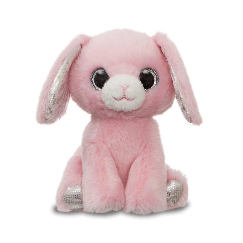 Plyšový zajačik Luna Pink - Sparkle Tales - 13 cm
