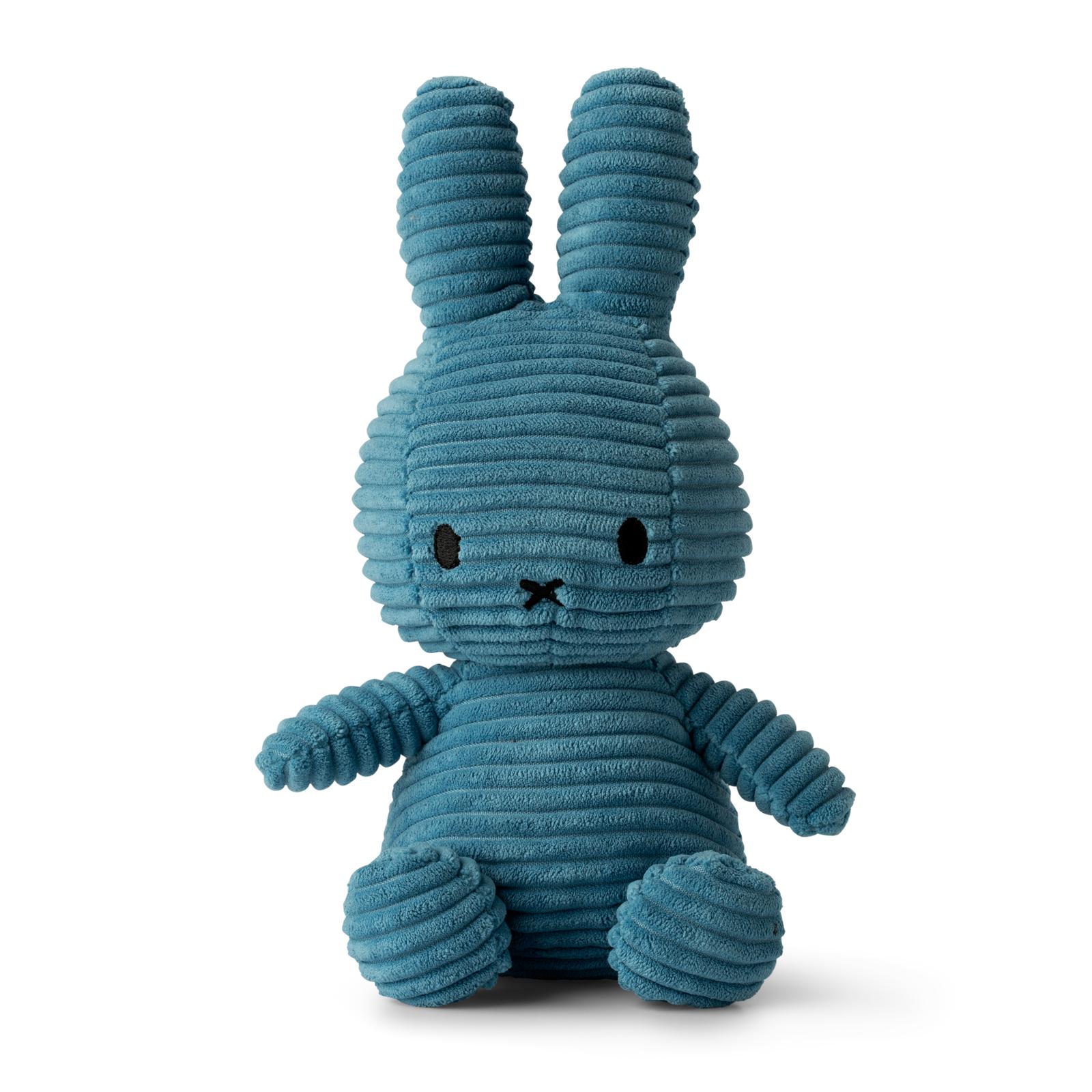 Plyšový zajačik modrý menčester - Miffy (23 cm)