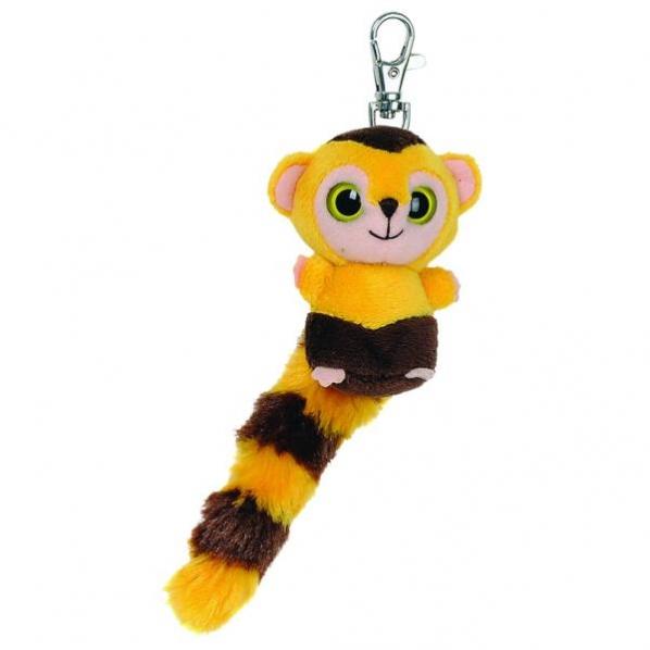 Plyšová malpa kapucínska Roodee - kľúčenka - YooHoo (7,5 cm)